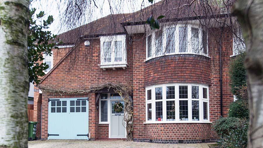 Mr & Mrs Pickering, Rustique windows and Suffolk Collection door