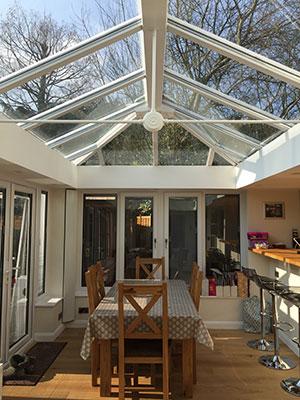Loggia Glazed Extension, Berkshire, CIN Installers