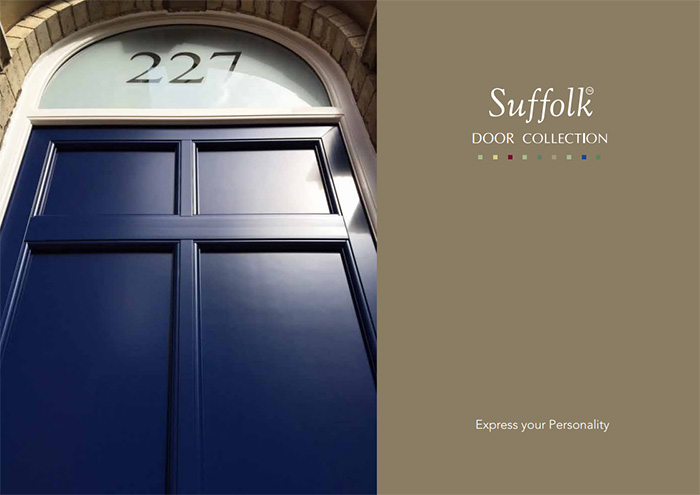 Gone are the days of the old-fashioned \u0027plastic door\u0027 \u2013 with a woodgrain texture some of the super stylish PVC-u options now available really do look like ... & Suffolk Door Range by CIN Installers Nationwide in the UK